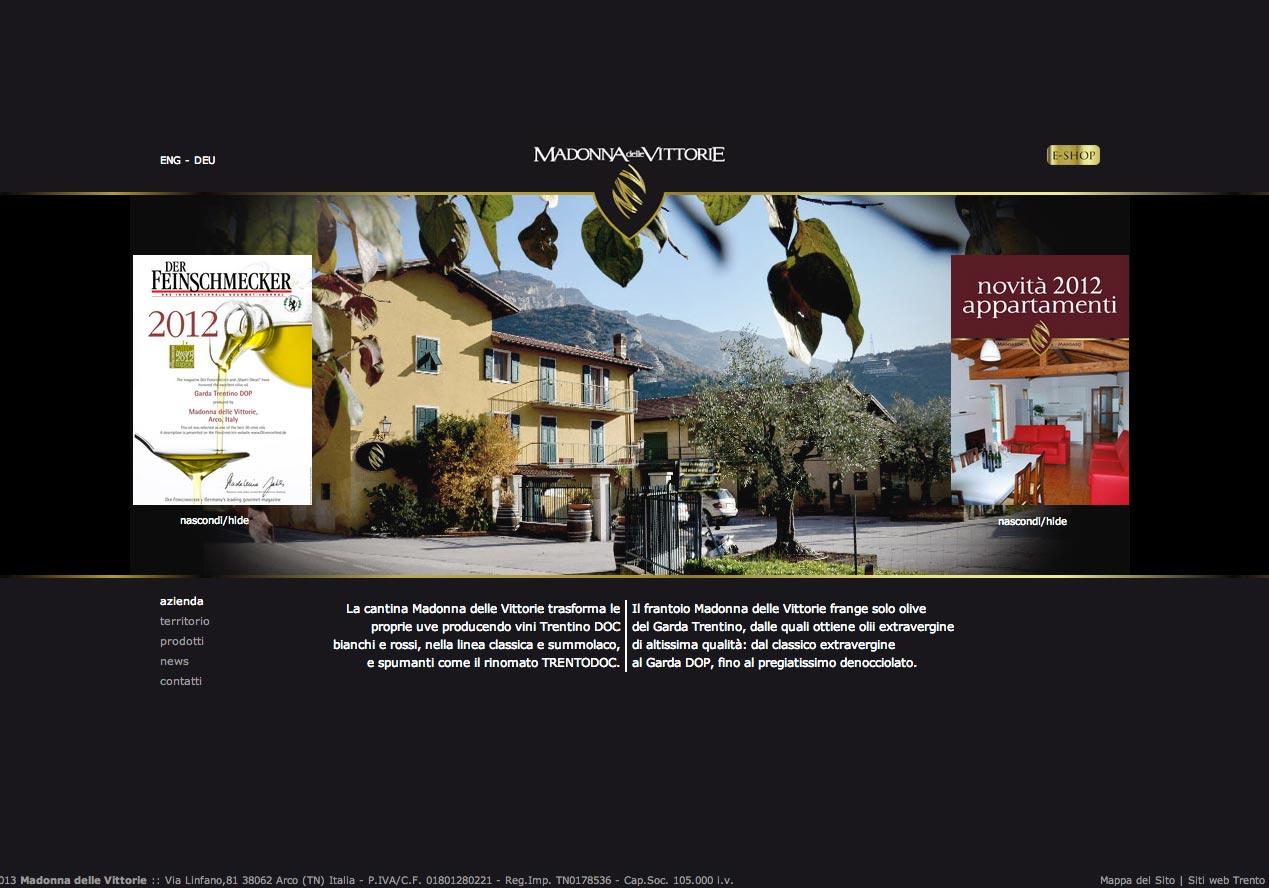 Portfolio realizzazione siti web trento for Siti design casa