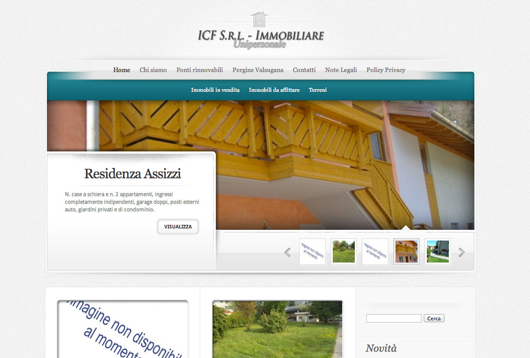 Realizzazione siti web trento - ICF 0