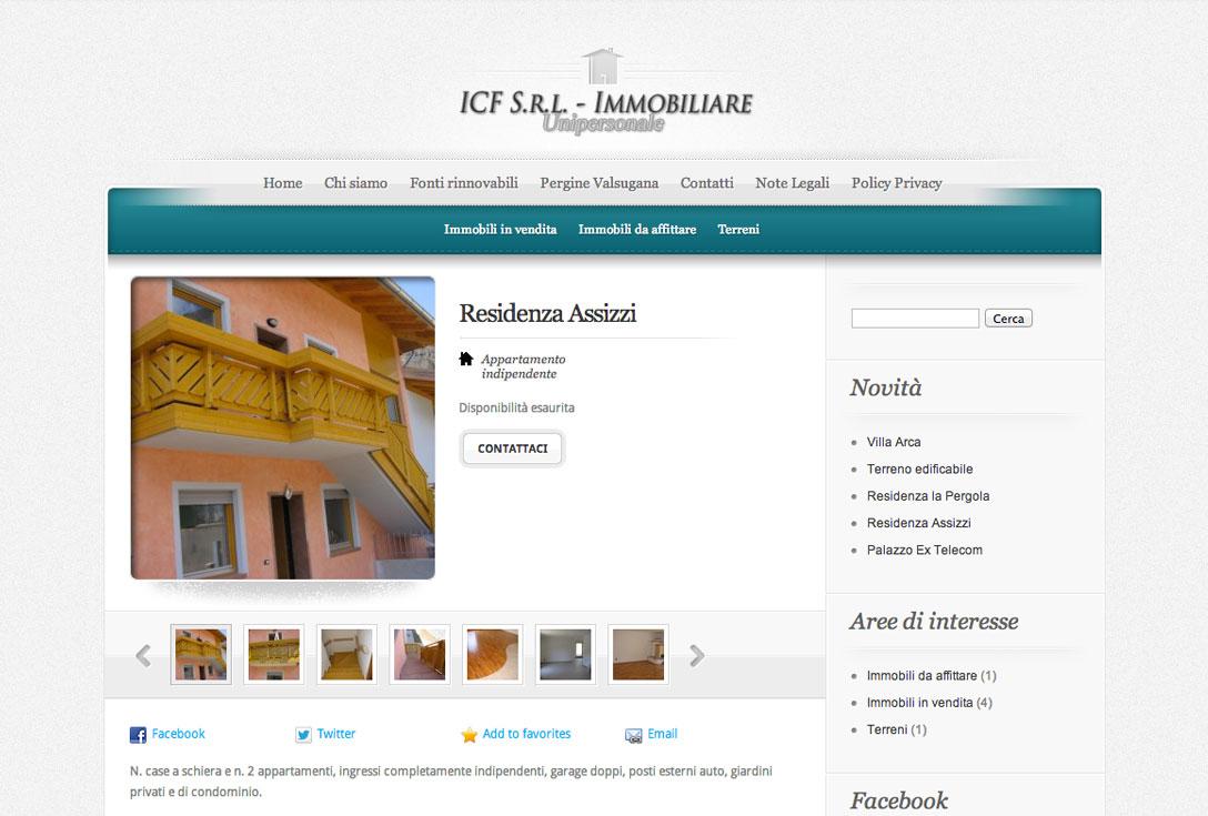 Realizzazione siti web trento - ICF 1