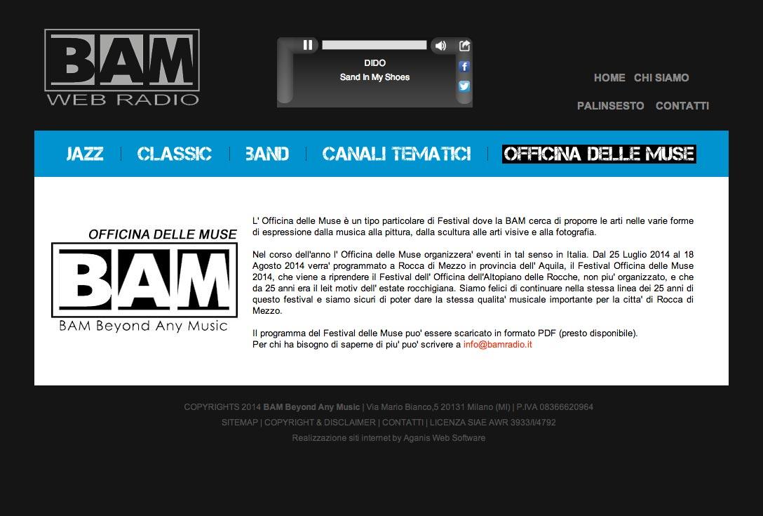 Realizzazione siti web trento - bamradio 2