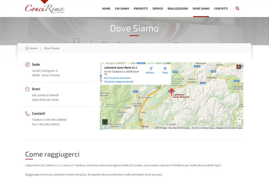 Realizzazione siti web trento - conci remo 2