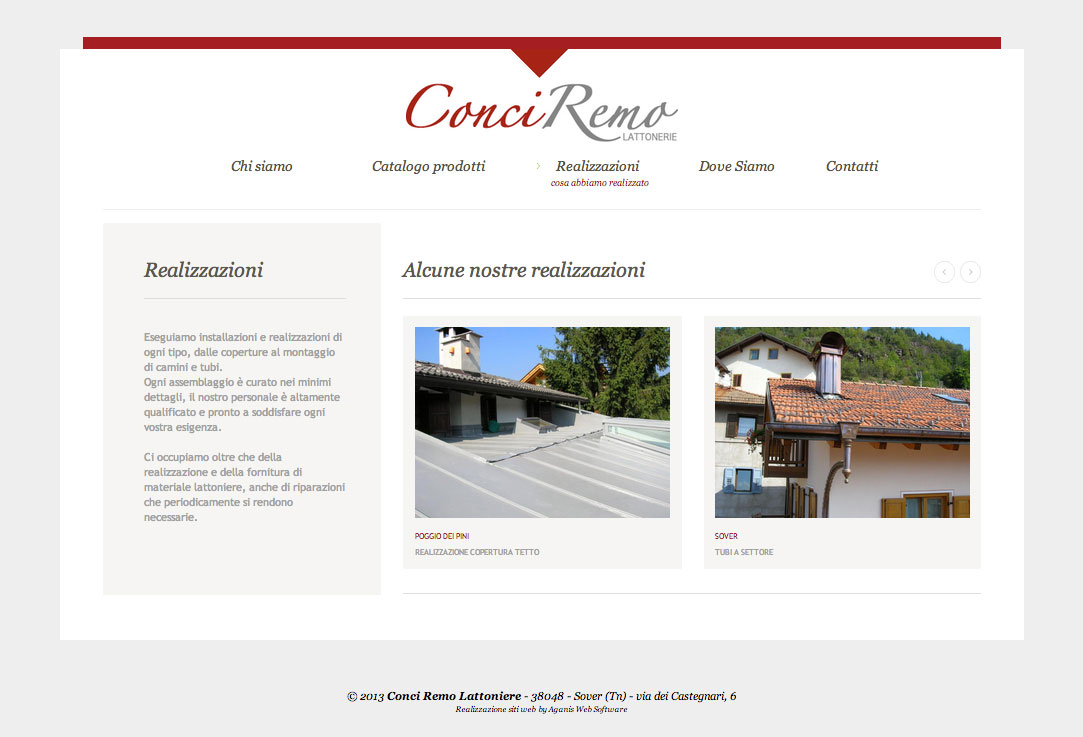 Realizzazione siti web trento - conciremo 2