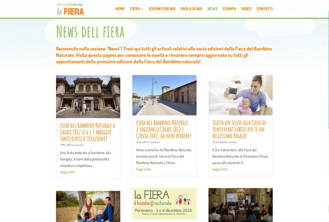 Realizzazione siti web trento - fieraBN 0