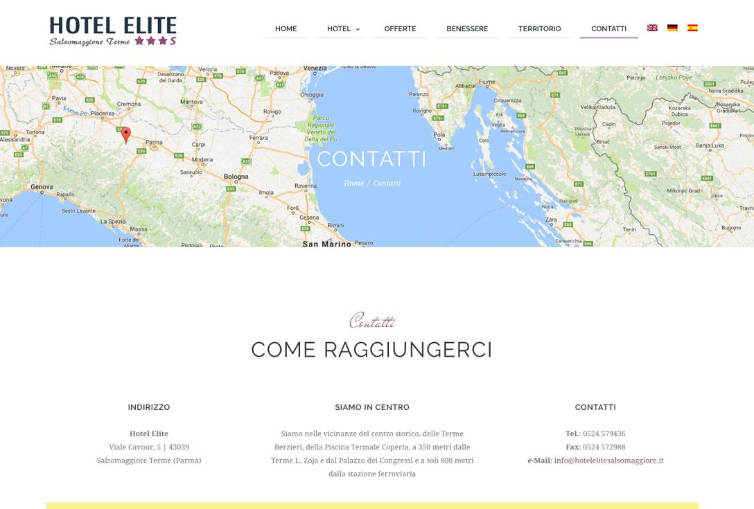 Realizzazione siti web trento - hotelelite