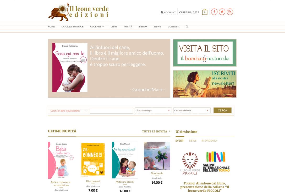 Realizzazione siti web trento - leoneverde2.0 0