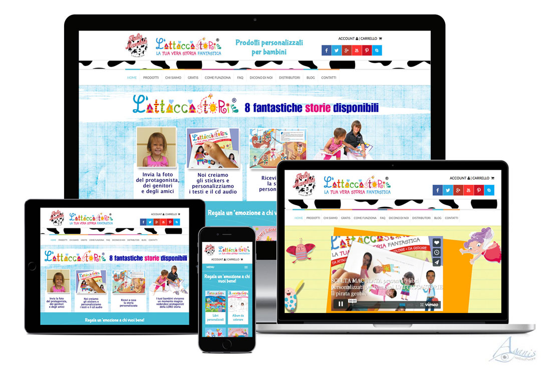 Realizzazione siti web trento - Scelta Maculata 0