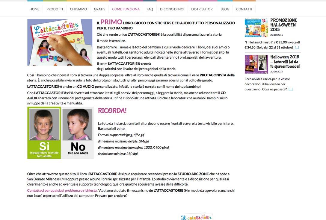 Realizzazione siti web trento - Scelta Maculata 2