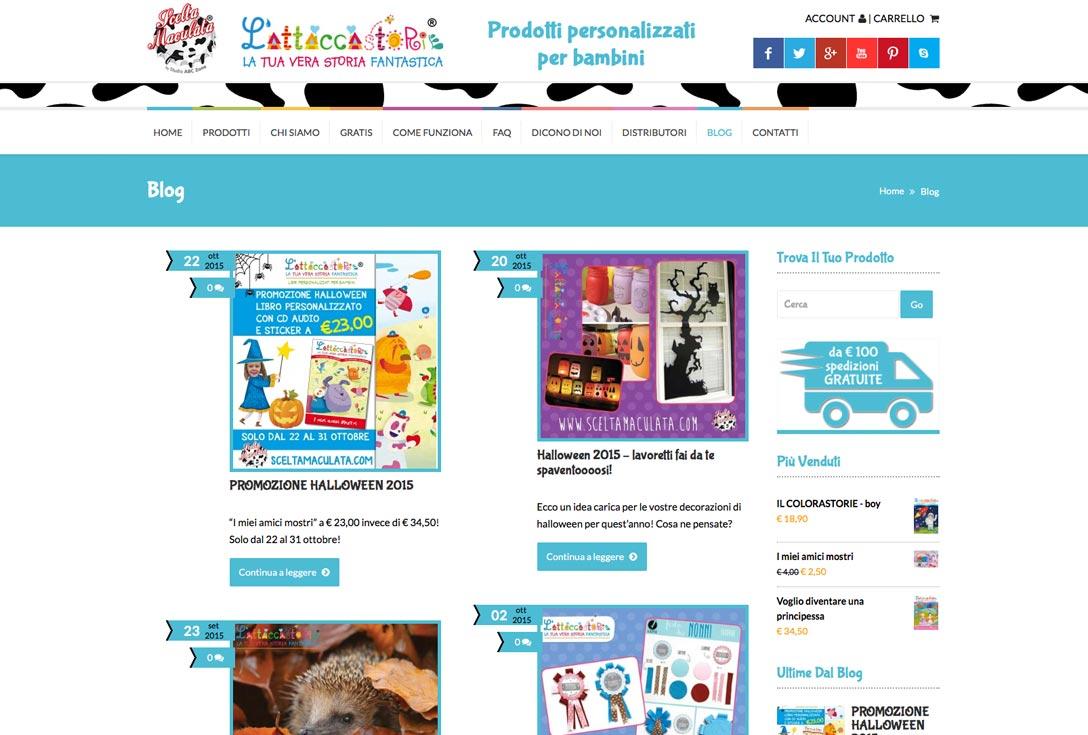 Realizzazione siti web trento - Scelta Maculata 3