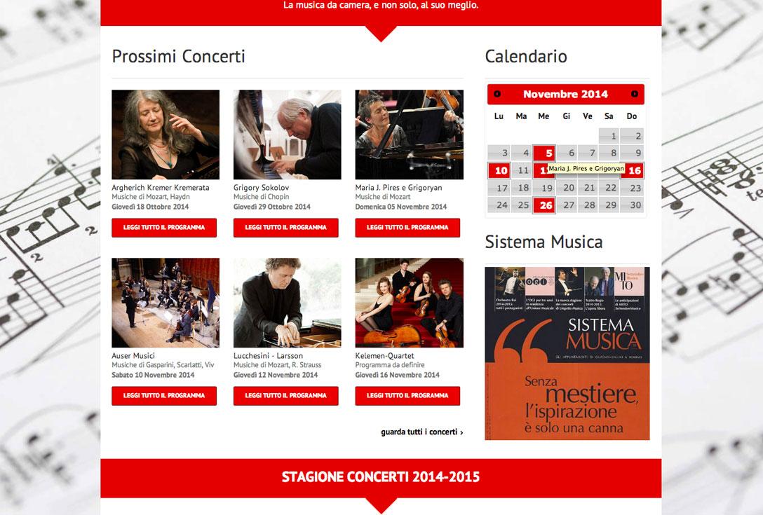 Realizzazione siti web trento - unione-musicale-torino 3