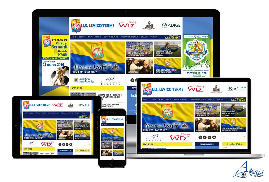 Realizzazione siti web trento - uslevicoterme 1