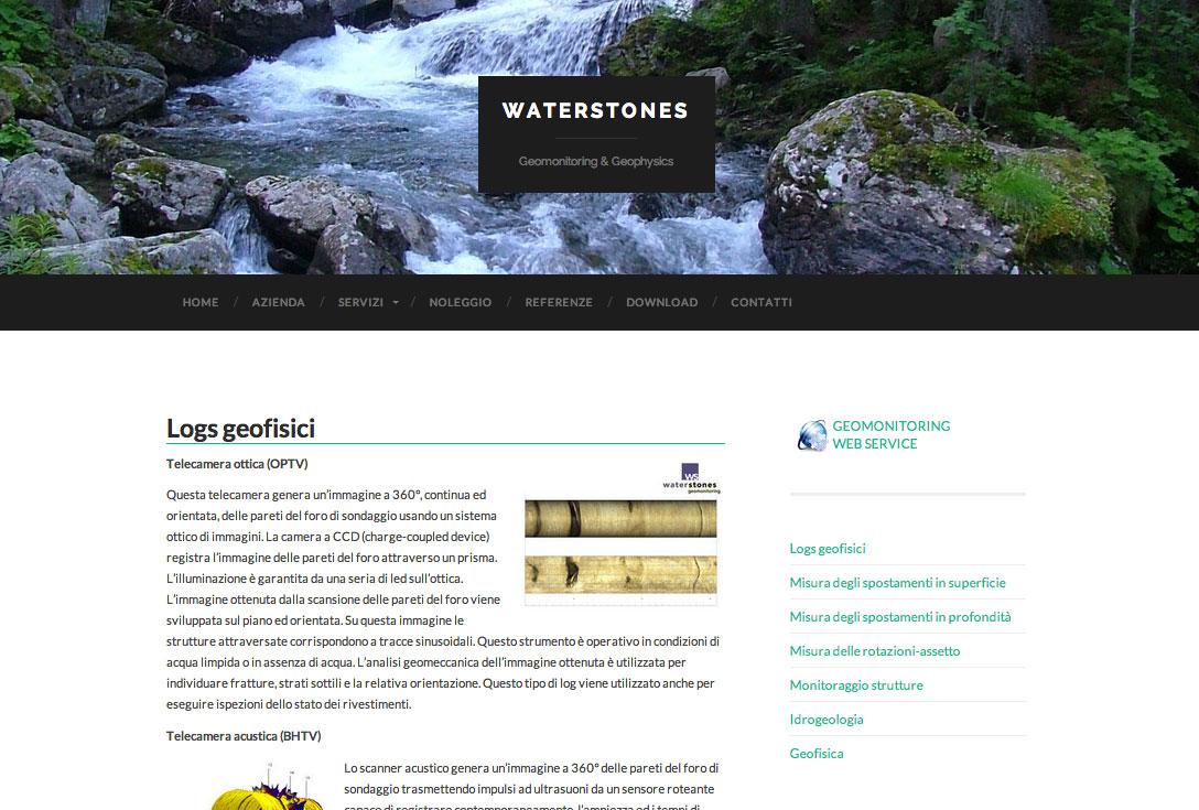 Realizzazione siti web trento - waterstones 2