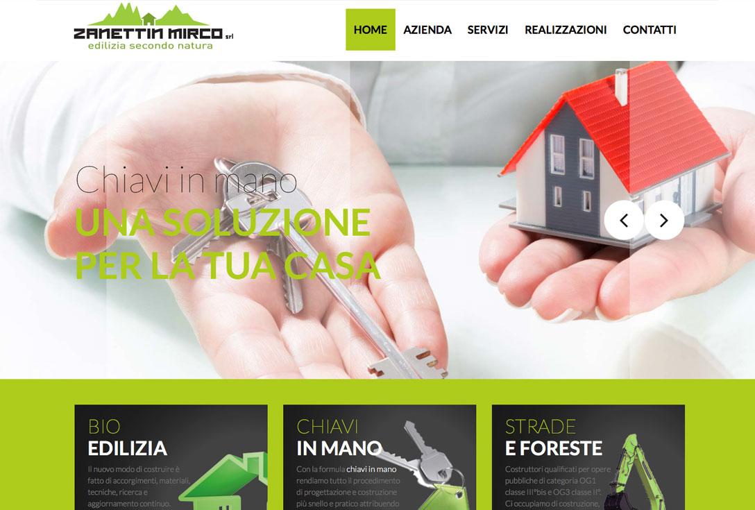 Realizzazione siti web trento - zanettinmirco2.0 0