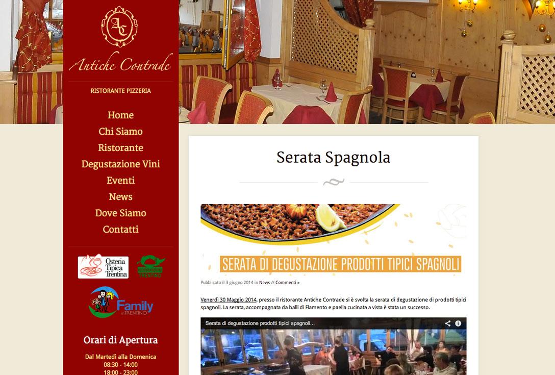 Realizzazione siti web trento - antiche-contrade-pergine-valsugana 1