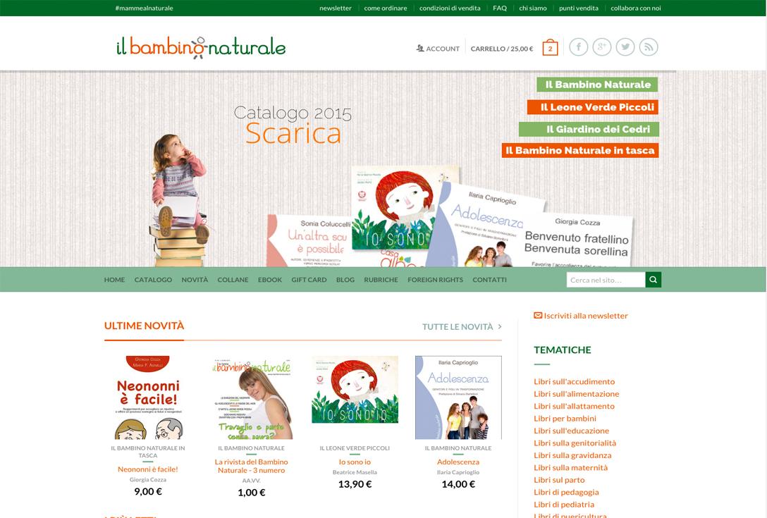 Realizzazione siti web trento - bambinonaturale 0