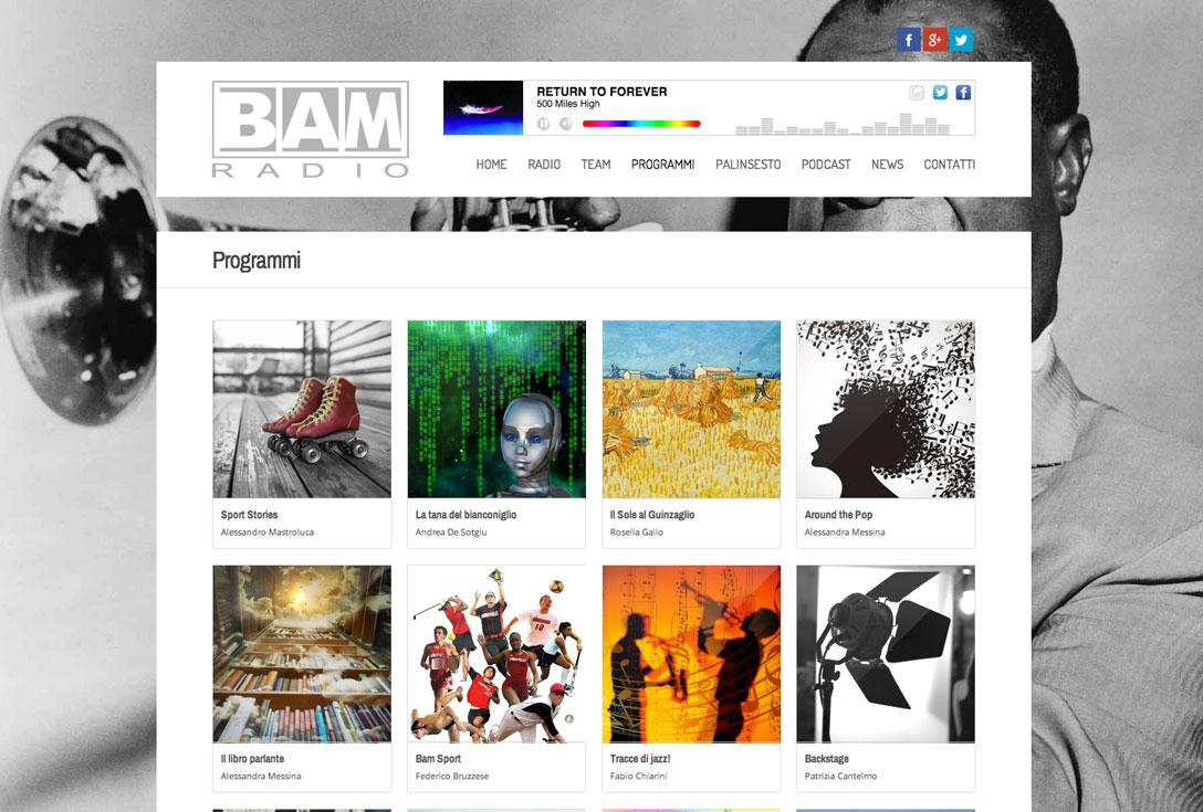 Realizzazione Siti Web - bamradio2.0 1