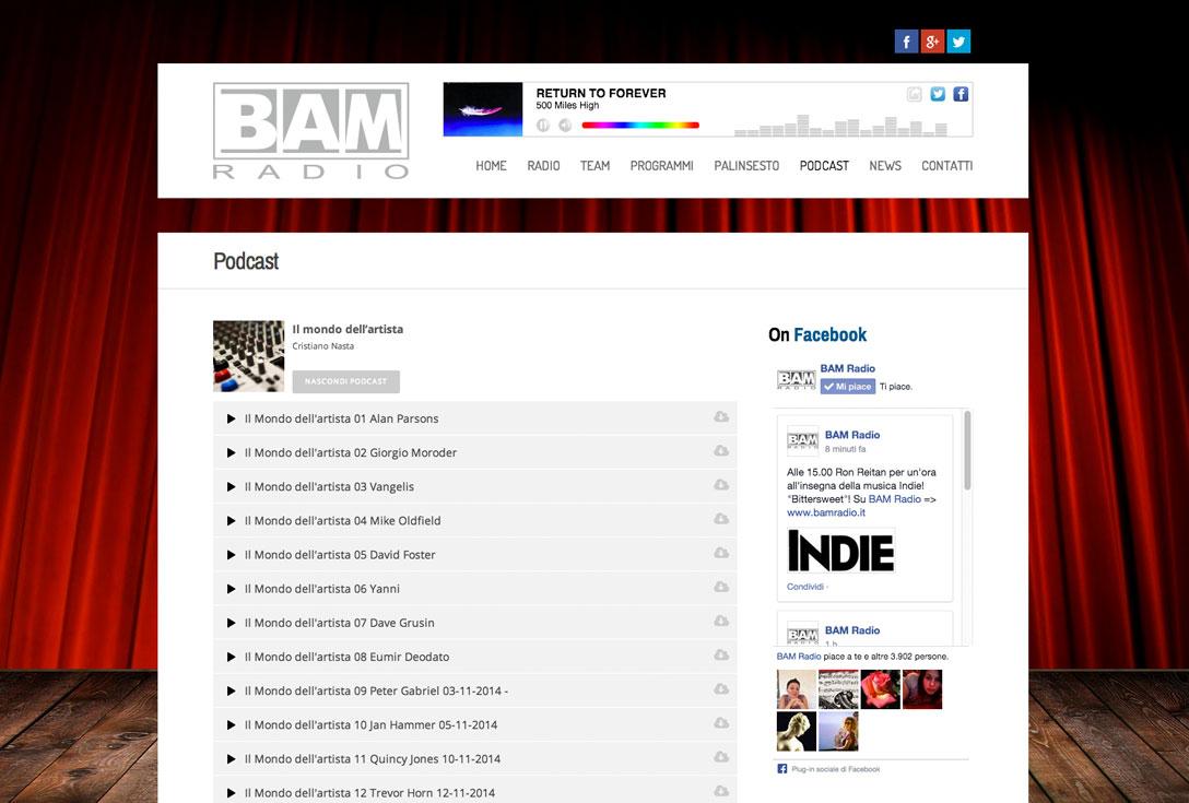 Realizzazione Siti Web - bamradio2.0 2