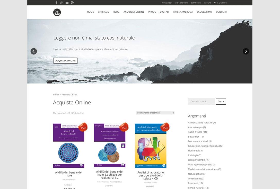 Realizzazione siti web trento - edizioni-enea 0