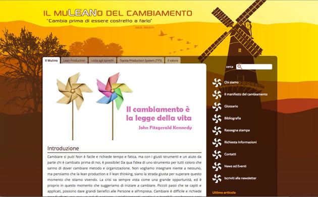 Realizzazione siti web trento - ilmuleanodelcambiamento 0