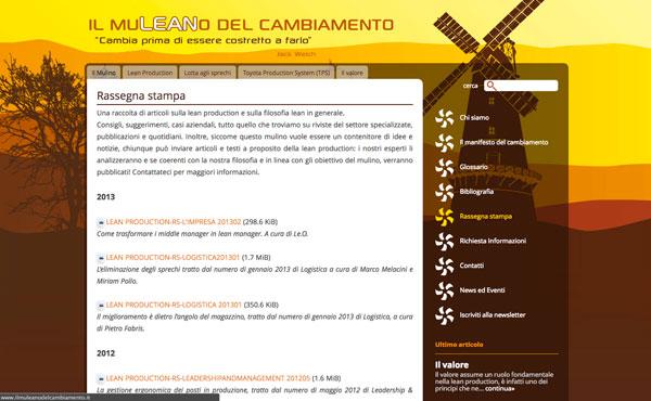 Realizzazione siti web trento - ilmuleanodelcambiamento 2