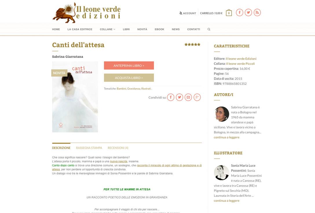 Realizzazione siti web trento - leoneverde2.0 2