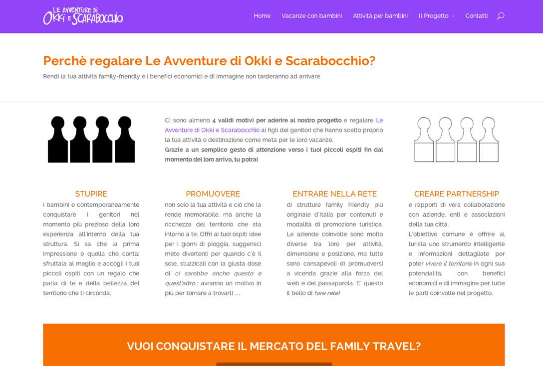 Realizzazione siti web trento -  okkiescarabocchio 1