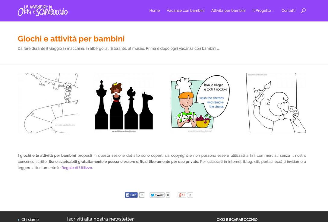 Realizzazione siti web trento -  okkiescarabocchio 2