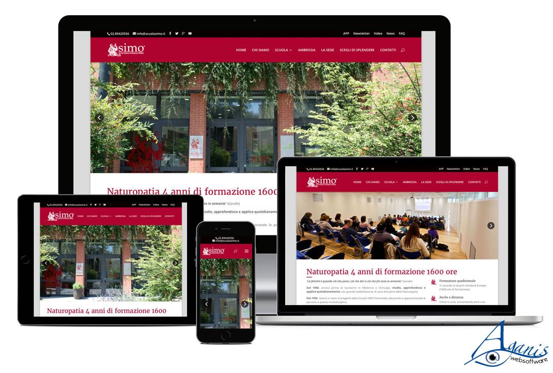 Realizzazione siti web trento - scuolasimo 1