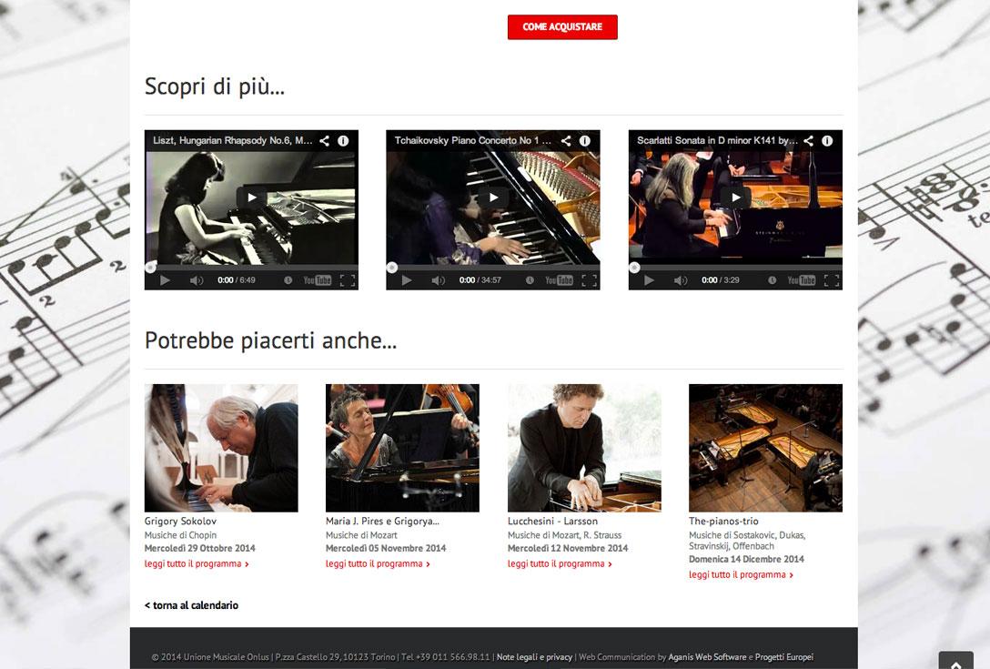 Realizzazione siti web trento - unione-musicale-torino 2