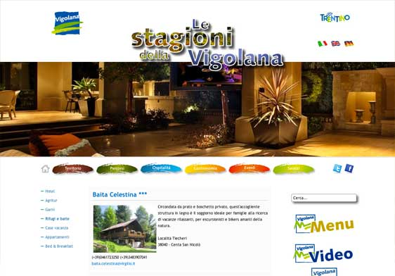 Realizzazione siti web trento - vigolana 2