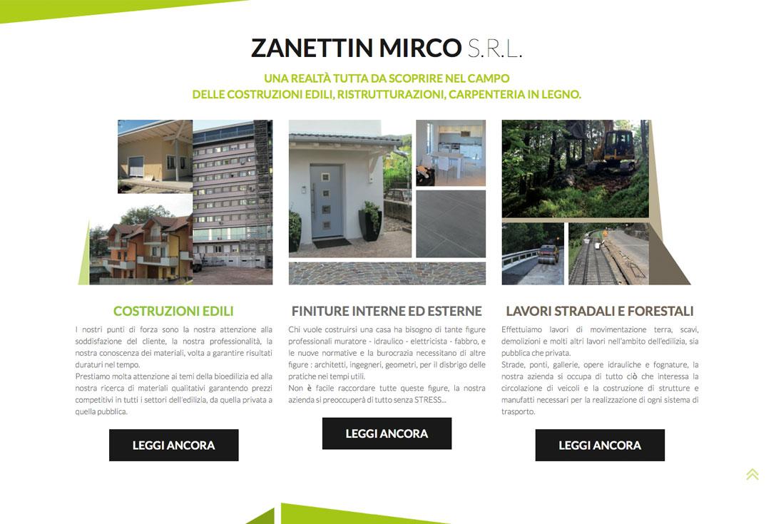 Realizzazione siti web trento - zanettinmirco2.0 2